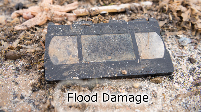 Flood Damaged Tape Tape